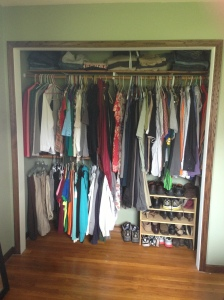 bedroom - new closet layout