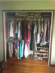 bedroom - new closet layout