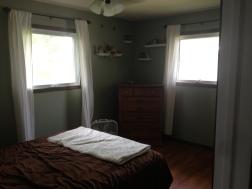 bedroom - window trim