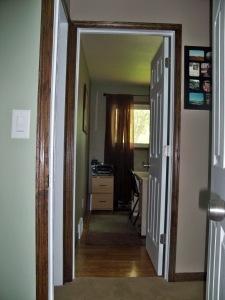 office - new door and trim