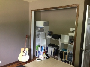 office - new trim