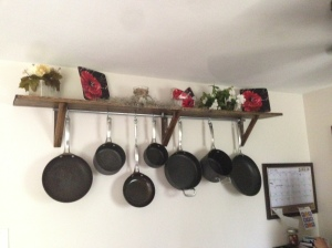 pot rack complete
