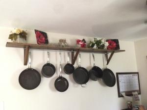 pot rack complete