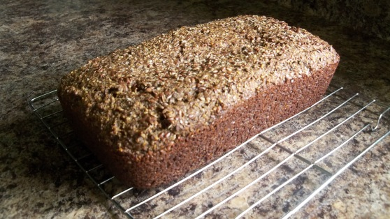 almond flax bread 2