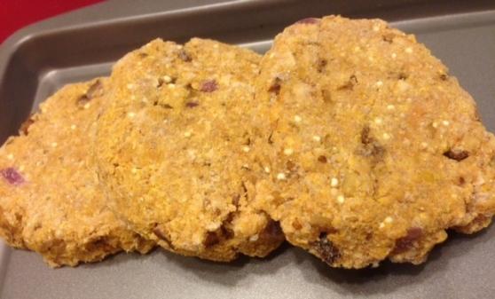 veggie burgers-chickpea walnut
